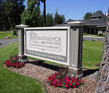Exterior view of The Renaissance at Coeur d'Alene in Coeur d'Alene, ID