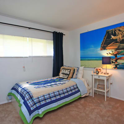 Beautiful bedroom at Highland Village in Halethorpe, MD
