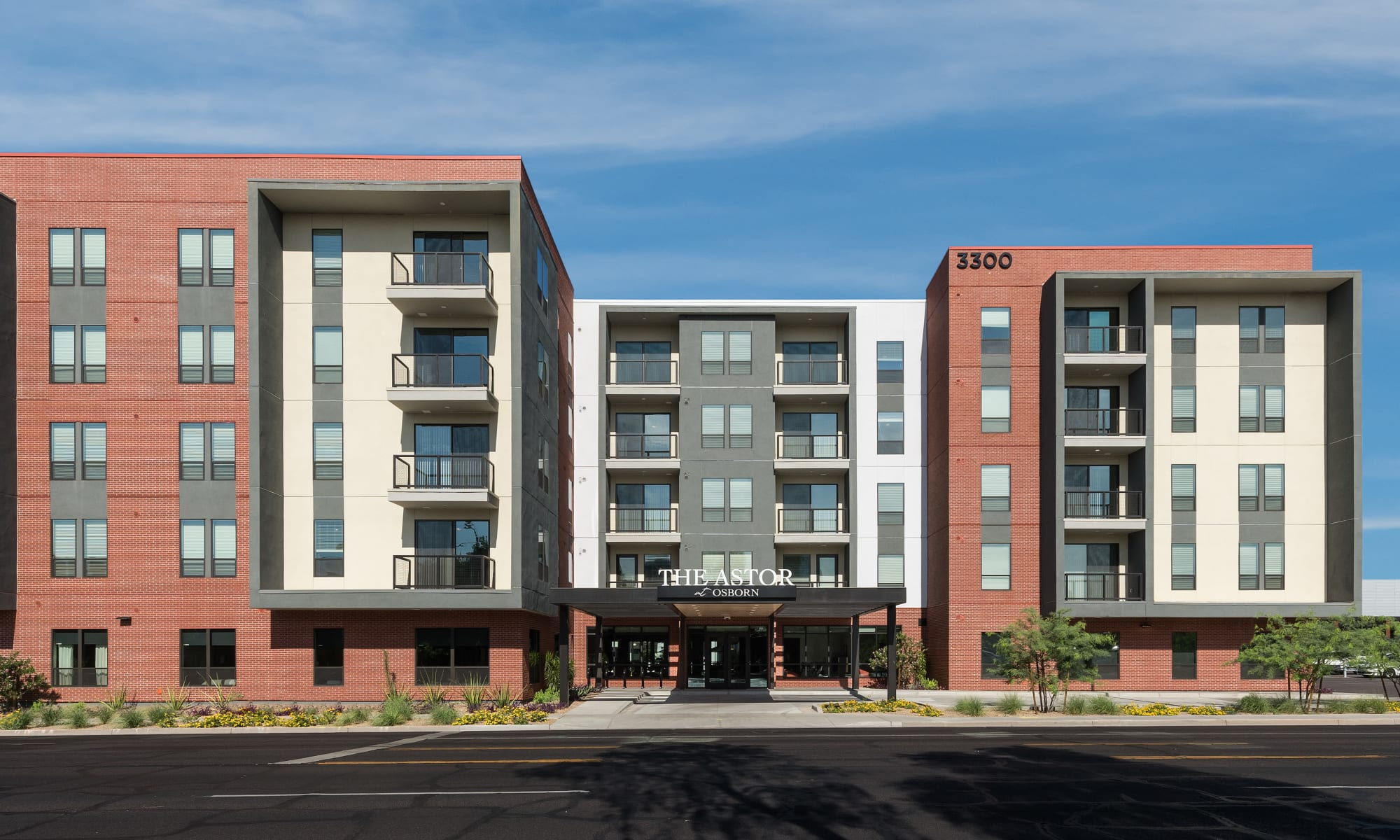 The Astor at Osborn apartments in Phoenix, Arizona