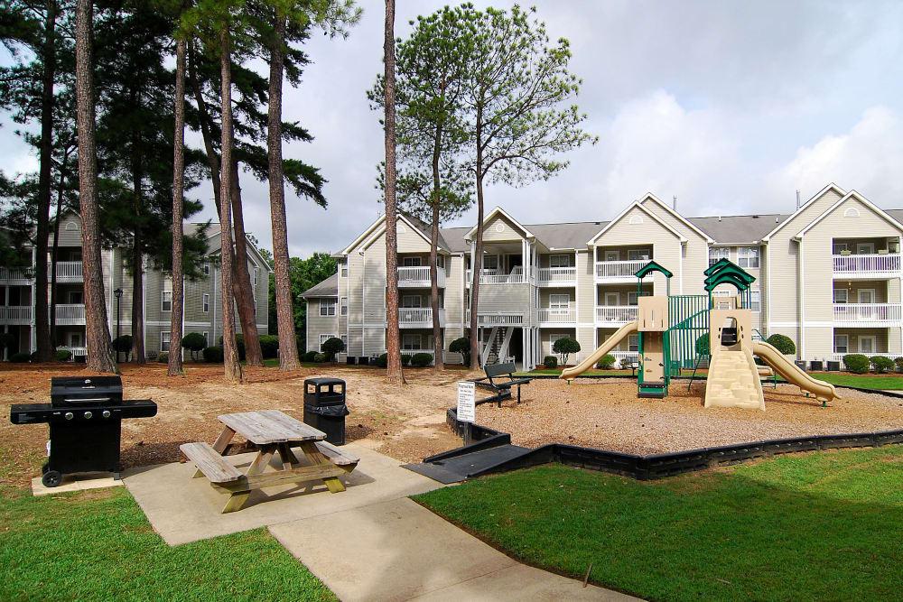Beautiful playground at apartments in Columbia, South Carolina