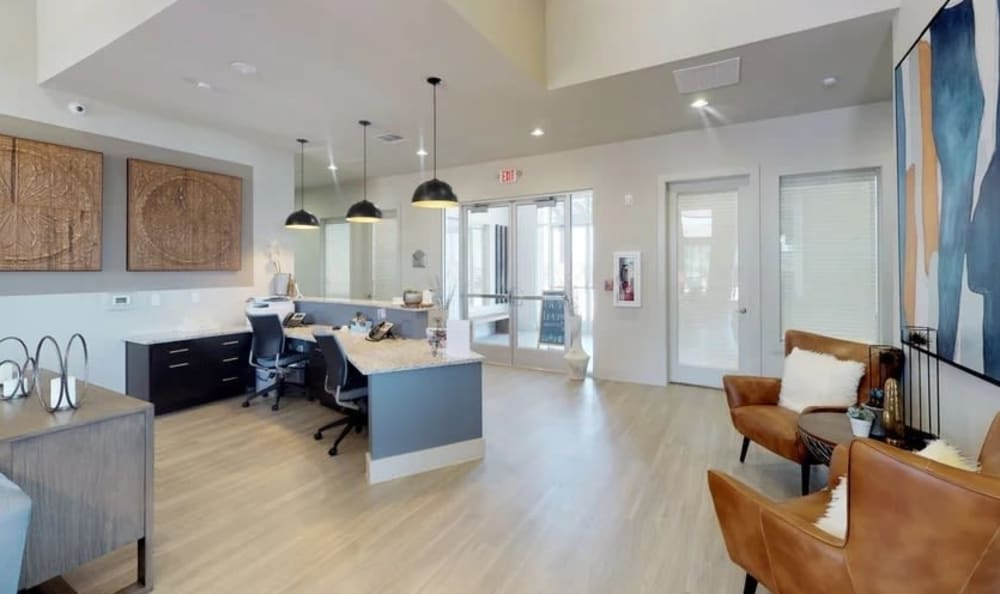 Pet-Friendly Clubhouse at  Springs at Cottonwood Creek Apartments
