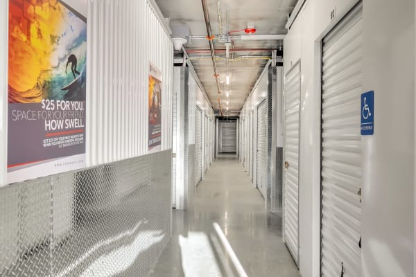Indoor storage at StorQuest Self Storage in Hawthorne, California