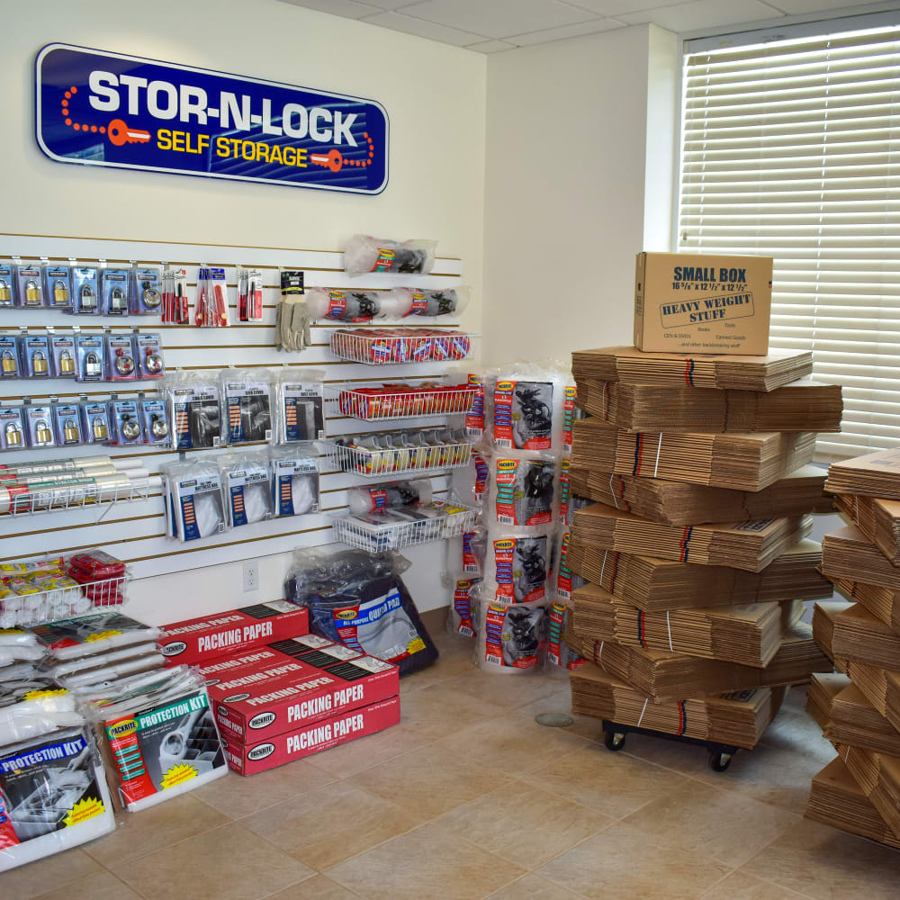 Moving supplies for sale at STOR-N-LOCK Self Storage in Palm Desert, California