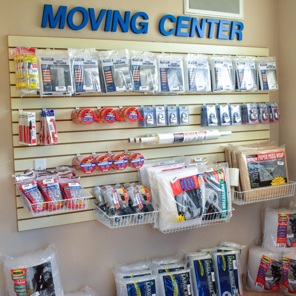 Moving supplies for sale at STOR-N-LOCK Self Storage in Fort Collins, Colorado