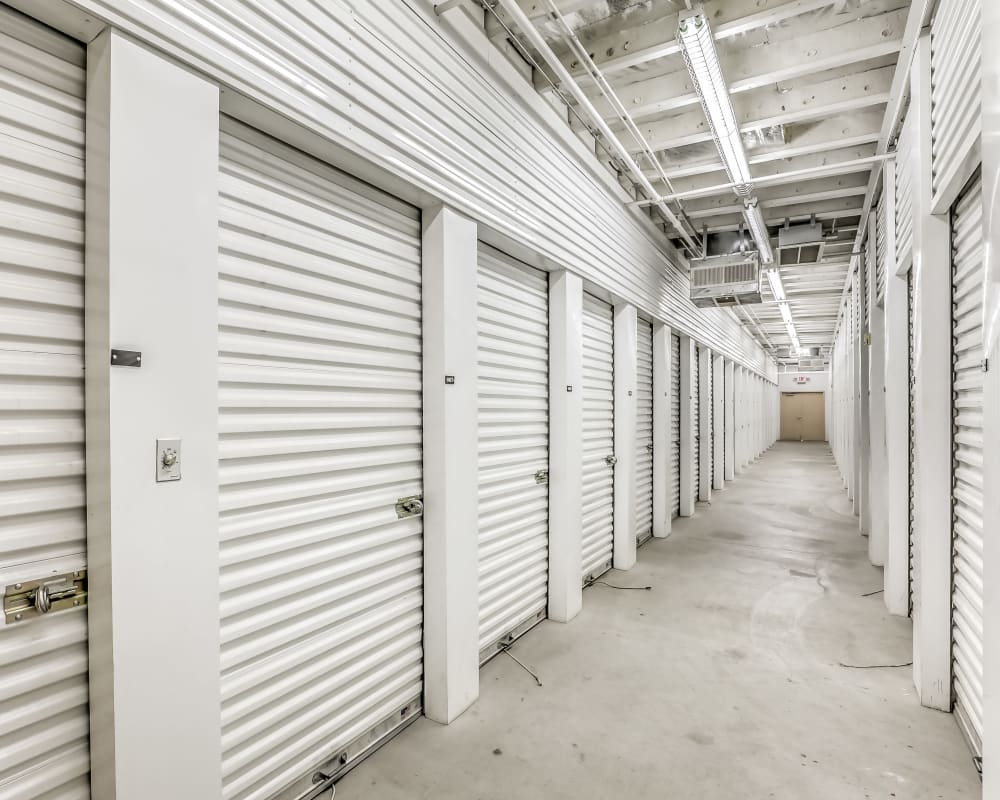 Climate-controlled storage at Crown Self Storage in North Las Vegas, Nevada