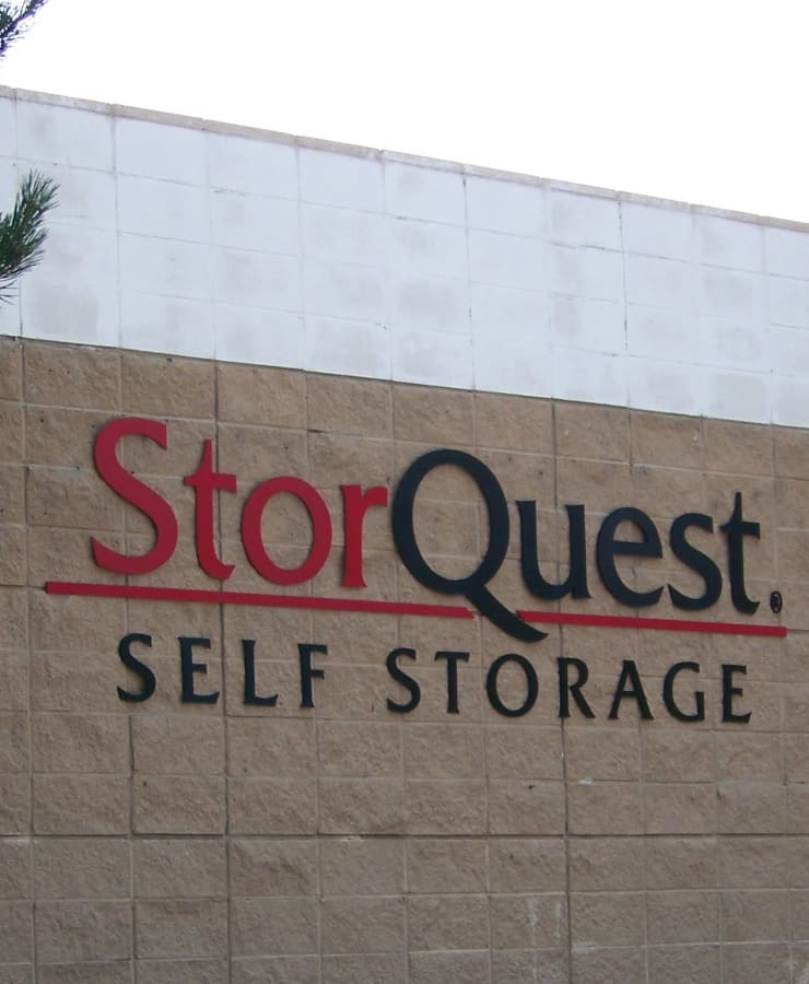 Facade at StorQuest Self Storage in Napa, California