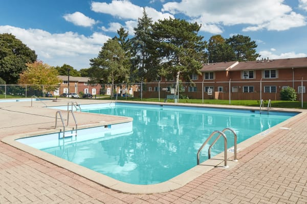 Swimming pool at Georgian Court Estates in Burlington, Ontario