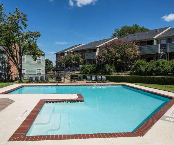 Community pool at Ridgewood Preserve