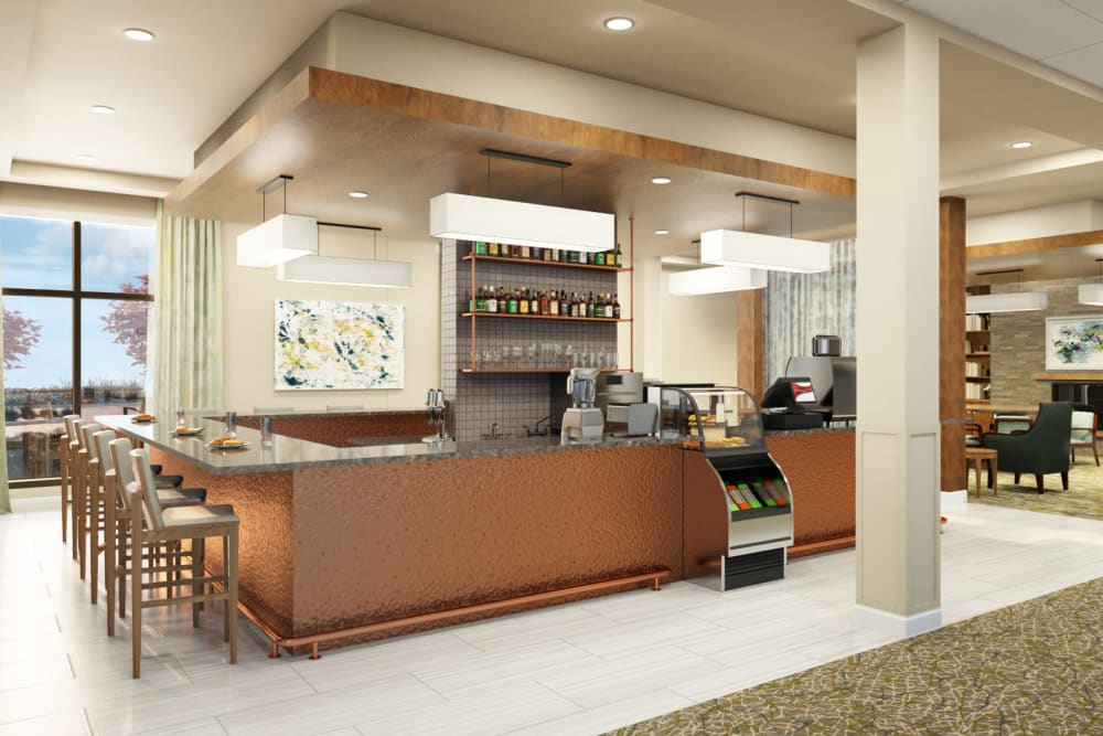 Resident snack counter at Anthology of Mayfield Heights - OPENING 2020 in Mayfield Heights, Ohio