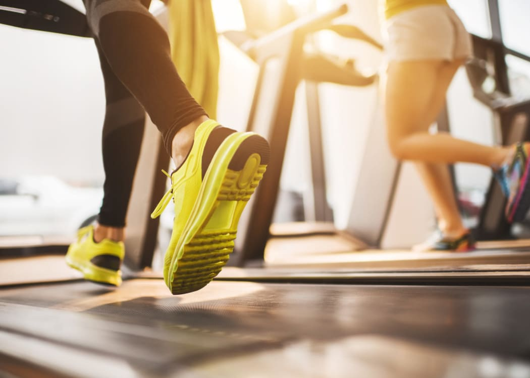 Stay healthy in the Courtyard Centre Apartments fitness center in Reno, Nevada