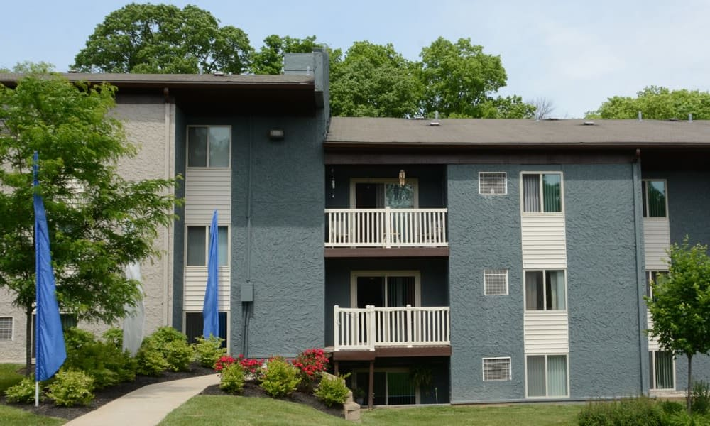 Apartment homes at Lakeside Landing Apartments in Lakeside Park, Kentucky