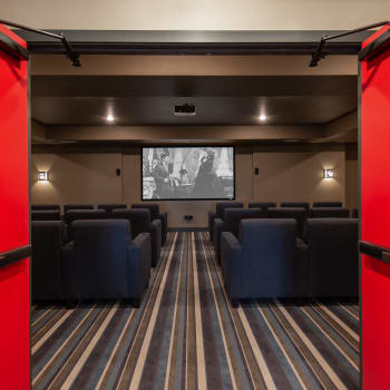 movie theater at Affinity at Ramsey in Ramsey, Minnesota