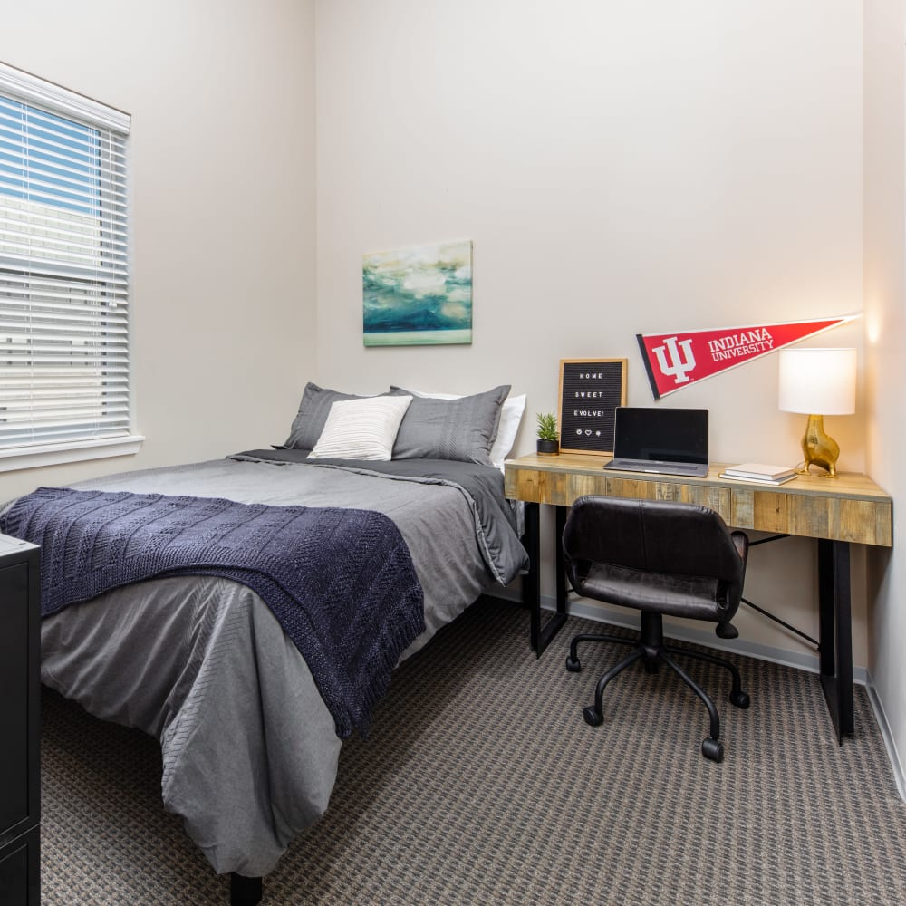 View our floor plans at evolve Bloomington in Bloomington, Indiana