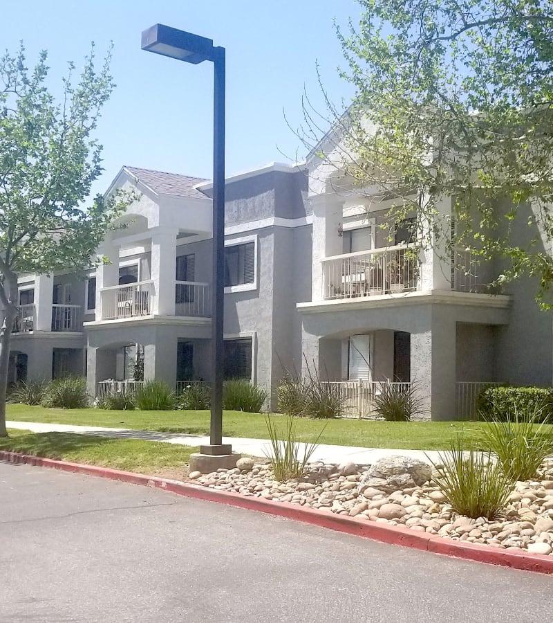 entrance at Pacifica Senior Living Menifee in Sun City, California