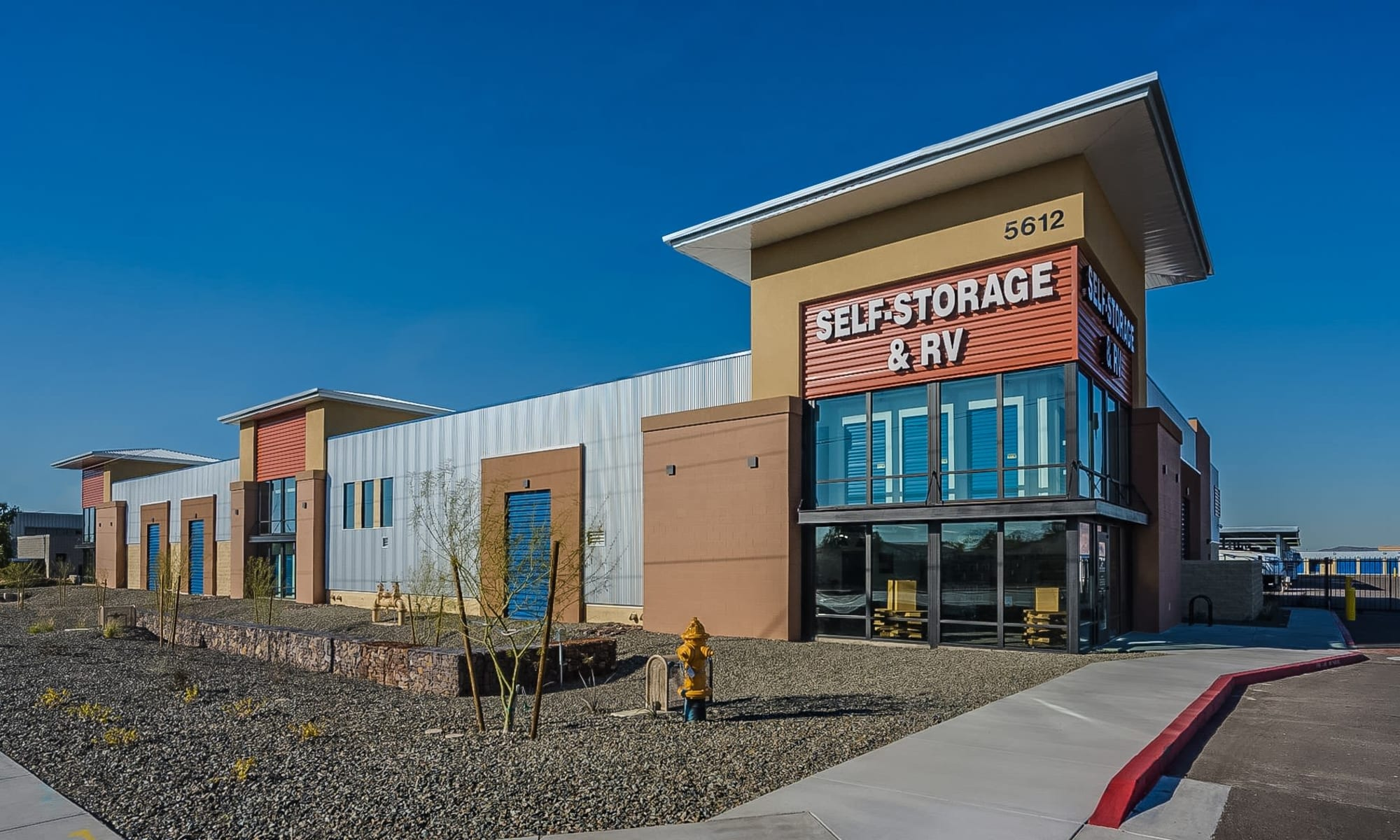 Self storage at Red Mountain Self Storage & RV in Mesa, Arizona