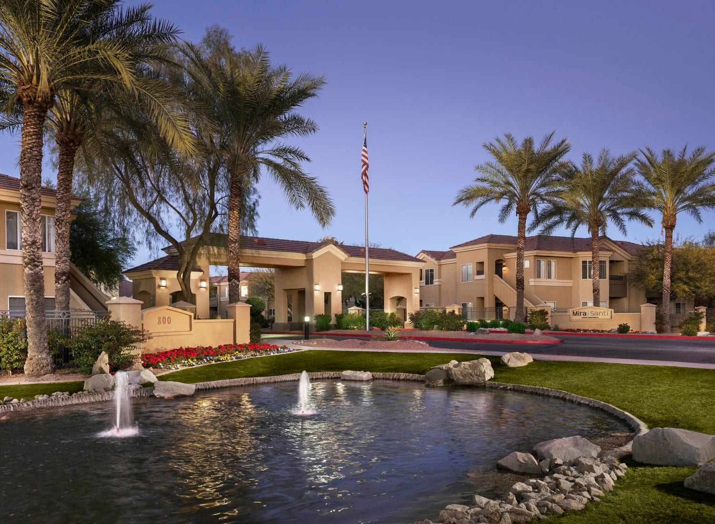 Mira Santi apartments in Chandler, Arizona