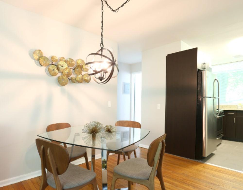 Open modern living at Cherokee Apartments in Philadelphia, Pennsylvania