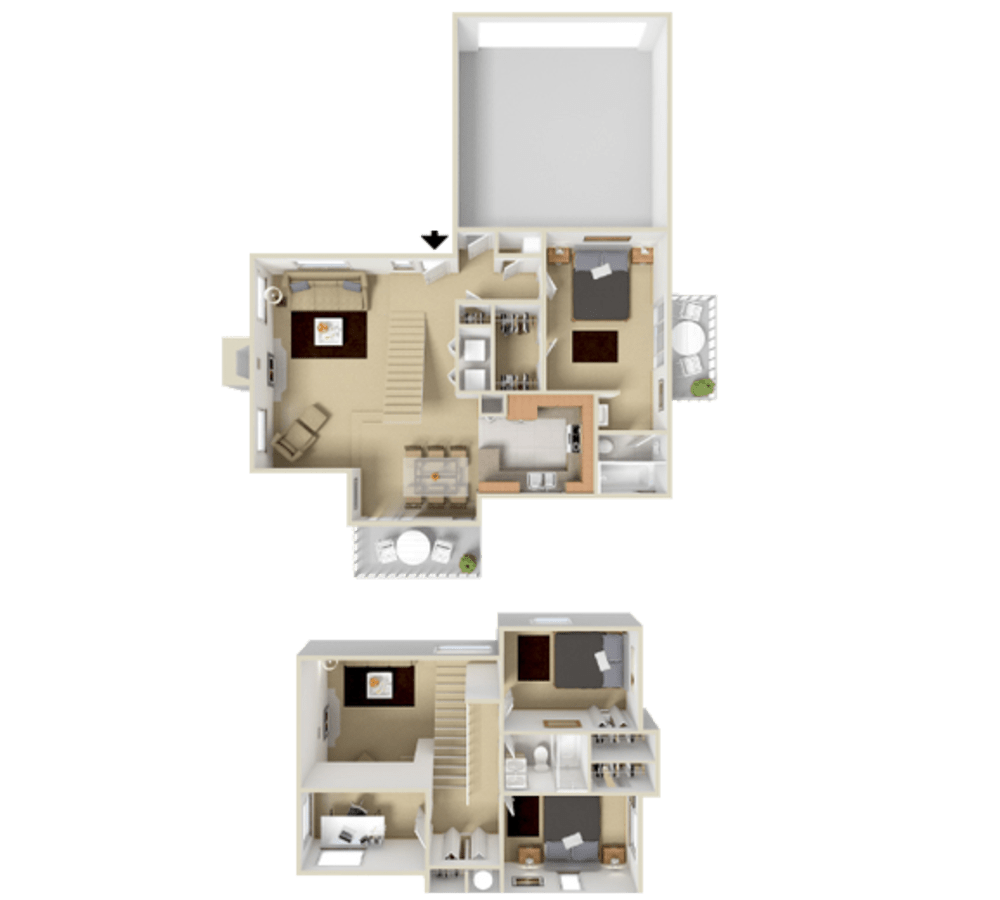 3 Bedroom 1384 sq.ft  house in Westminster, Colorado