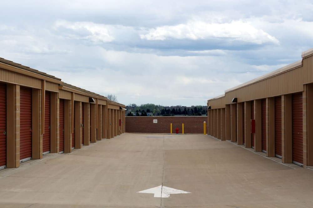 Exterior units at Storage Etc... Westminster in Westminster, CO