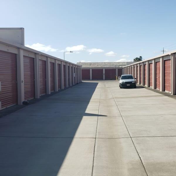 Drive-up access storage at StorQuest Self Storage in Napa, California