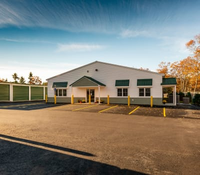 Self storage units for rent at Safe Storage in Sanford, Maine