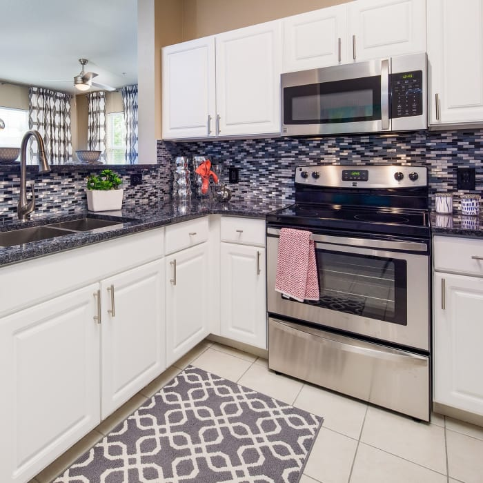 Stainless stain appliances at Vista at Lost Lake in Clermont, FL