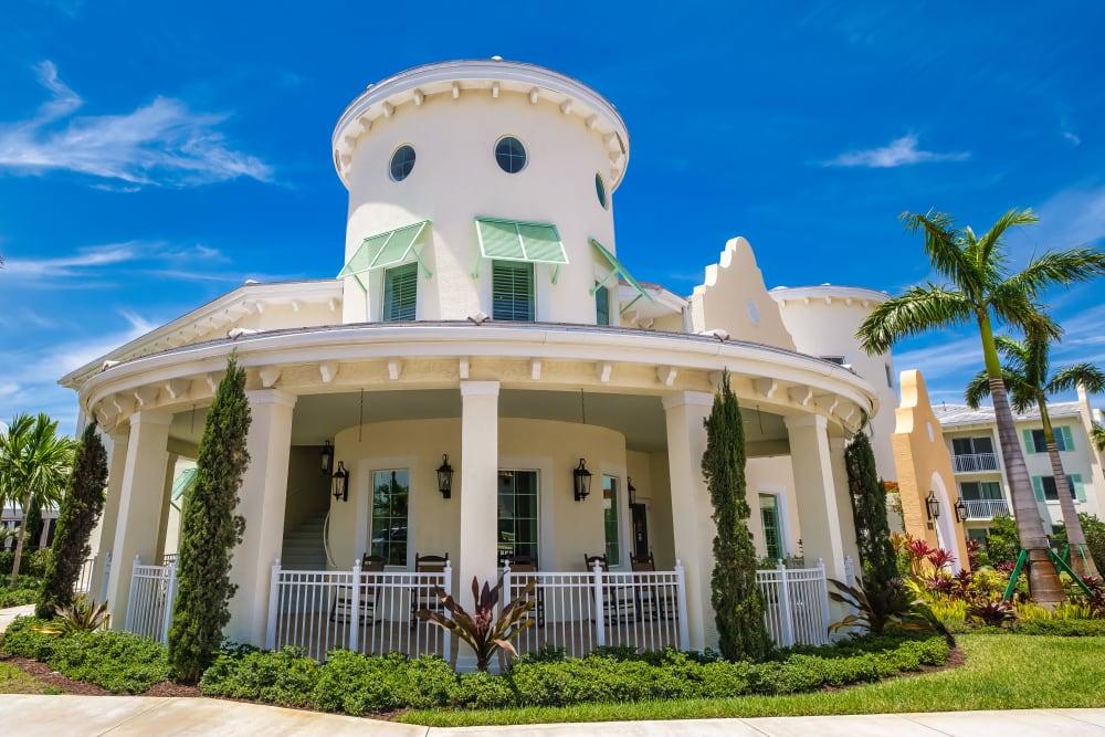 Exterior of Town Lantana in Lantana, Florida
