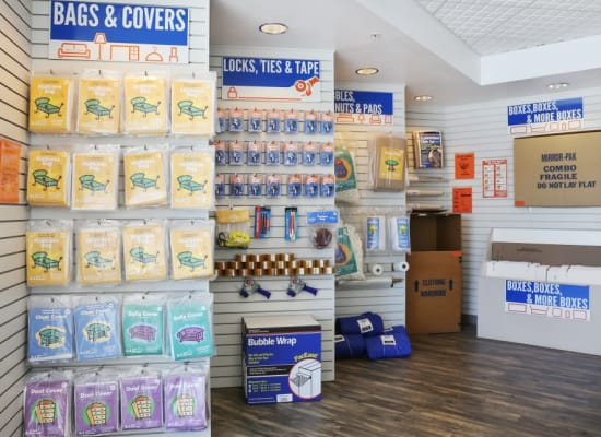 Moving supplies available at A-1 Self Storage in North Hollywood, California