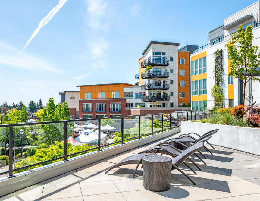 Enjoy Apartments with an Outdoor Sun Lounge at The Maverick