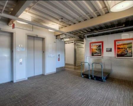Elevators at StorQuest Self Storage in Buckeye, Arizona
