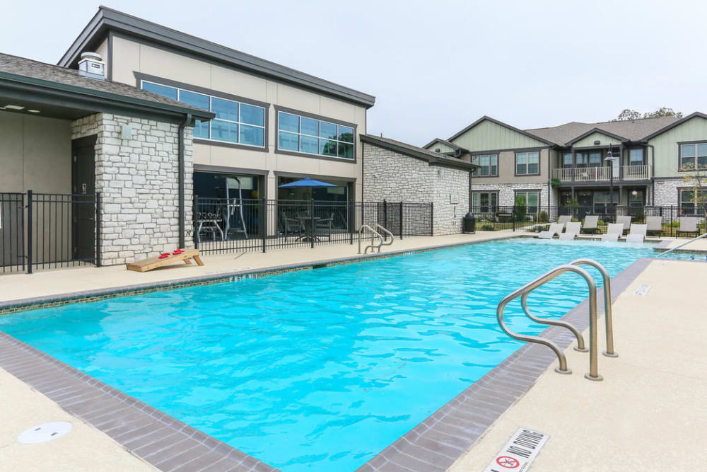 Resort-Style Pool at Springs at Round Rock