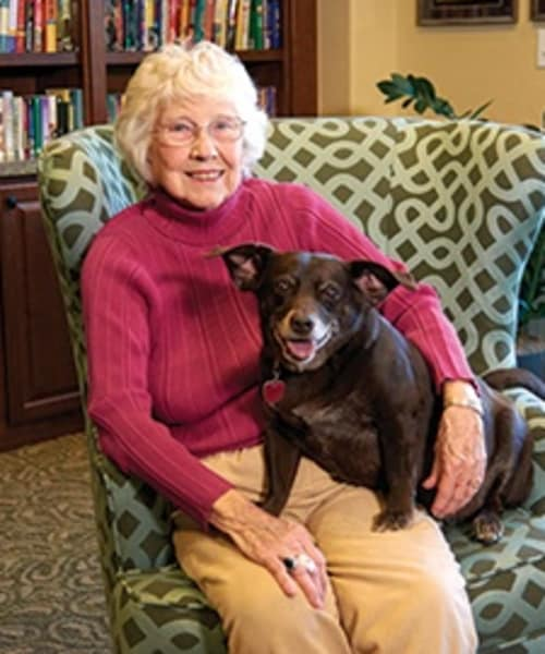 Pet friendly senior living community in Fort Collins, CO