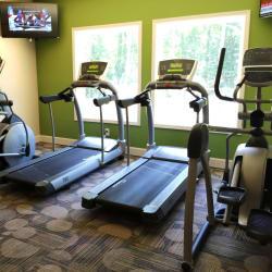 Modern fitness center at Abbots Glen