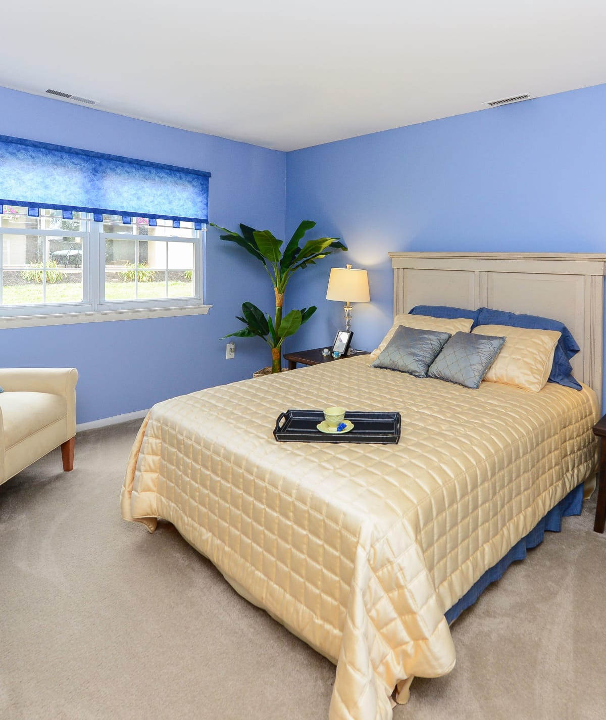 Bedroom at Forge Gate Apartment Homes in Lansdale, PA