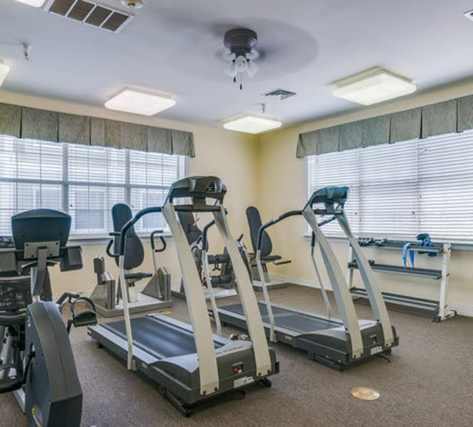 A gym at Town Village in Oklahoma City, Oklahoma