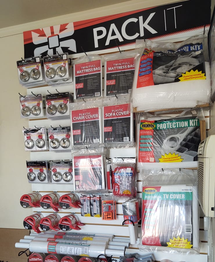 Packing supplies available at StorQuest Self Storage in Phoenix, Arizona