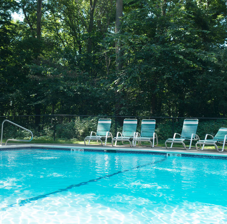 Mill Creek Apartments offers a swimming pool in East Greenbush, NY