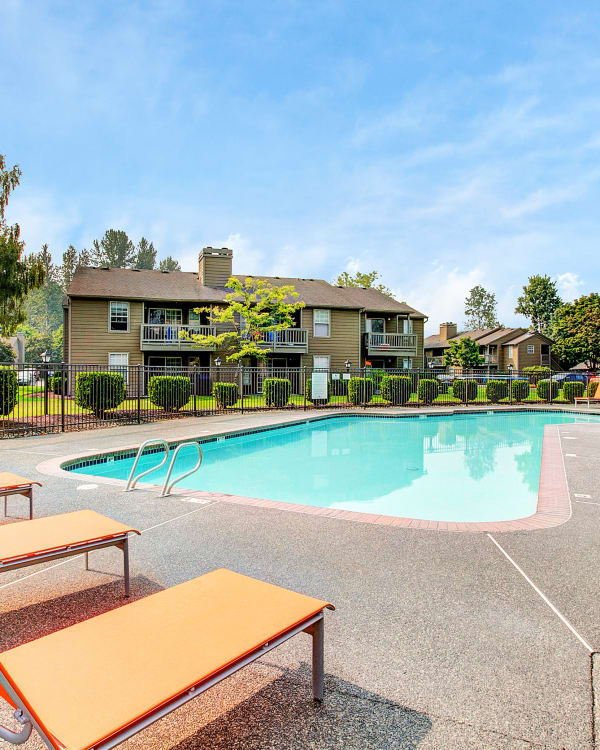 Superb fitness center at Waters Edge Apartments in Kent