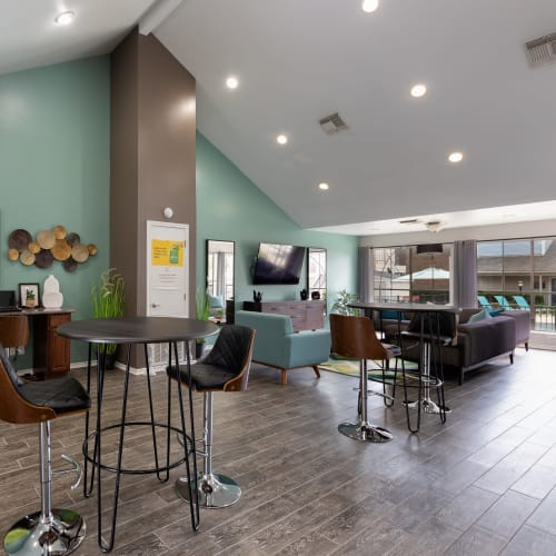 View virtual tour of the clubhouse at The Gallery at Katy in Katy, Texas