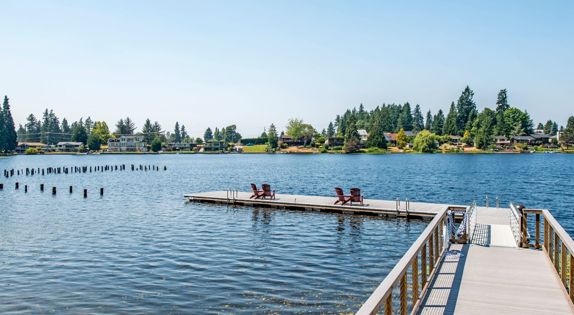 Surprise Lake Village in Milton, Washington