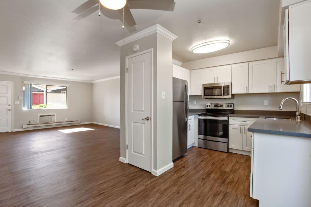 Beautiful Kitchen at Apartments in Santa Rosa, California
