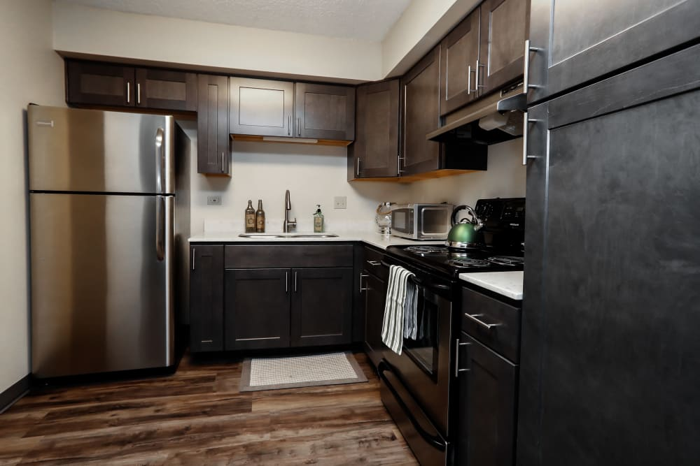 Kitchen at Halcyon House in Denver, Colorado