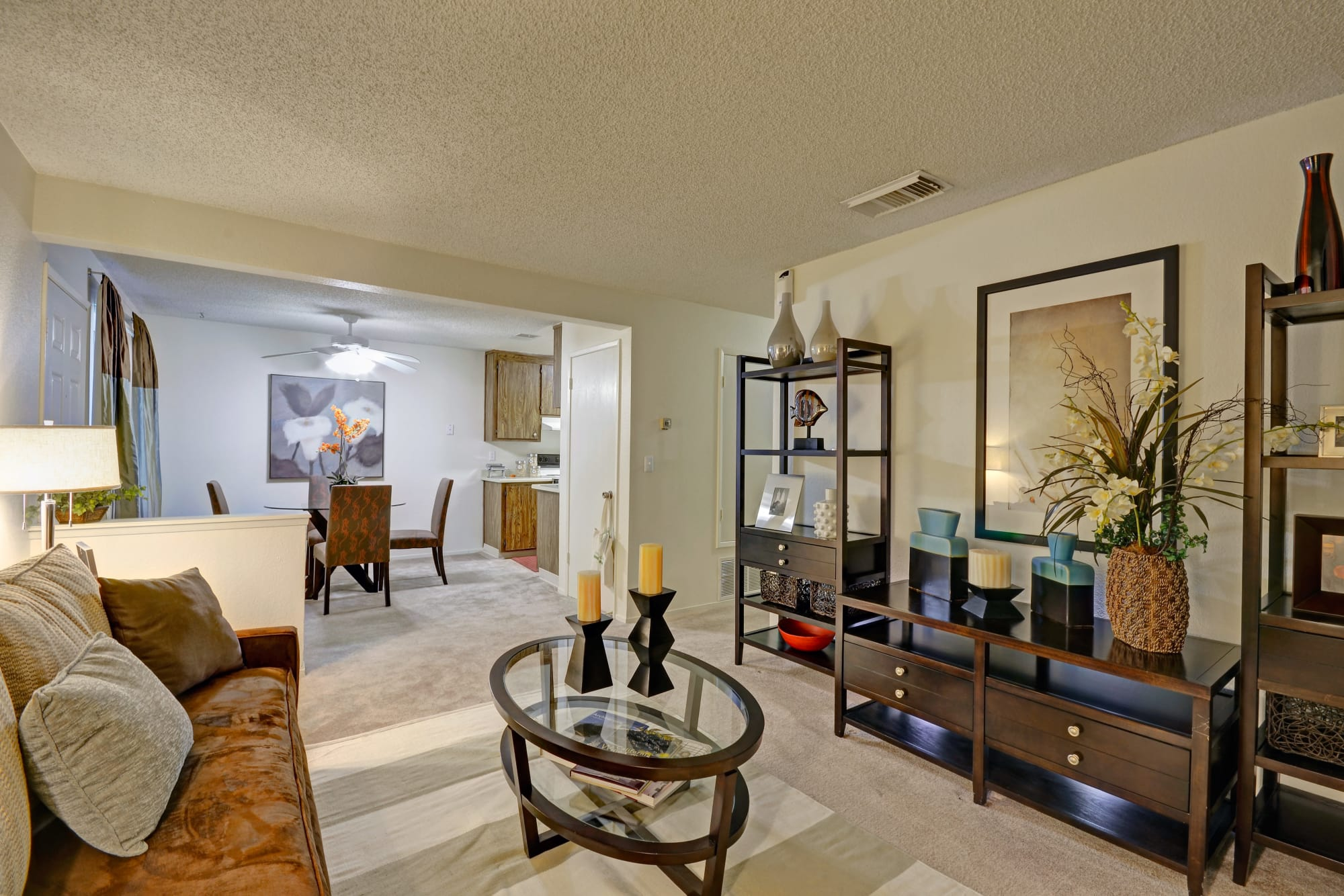 Avery Park Apartments living room with spacious layout