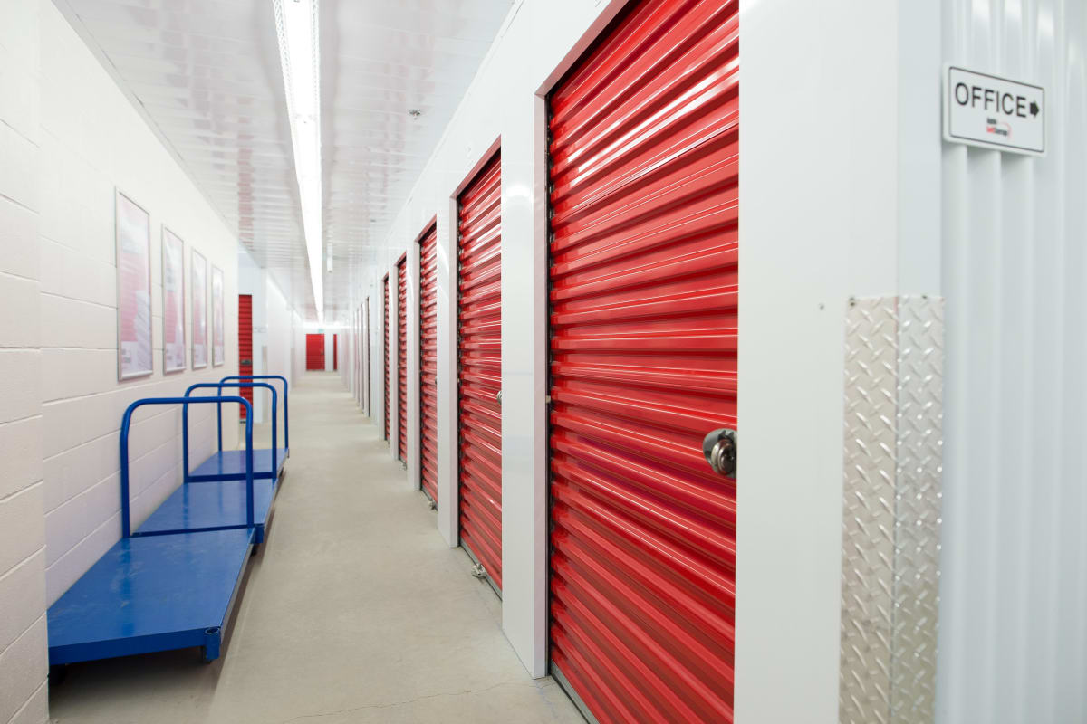 Temperature controlled indoor units at an Apple Self Storage location