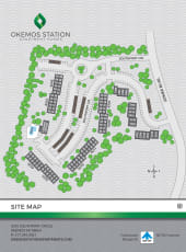 Site map for Okemos Station Apartments in Okemos, Michigan