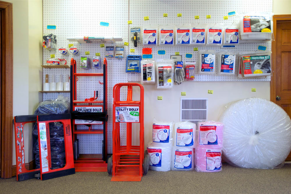 Packing supplies at Capital Self Storage in Liberty, New York