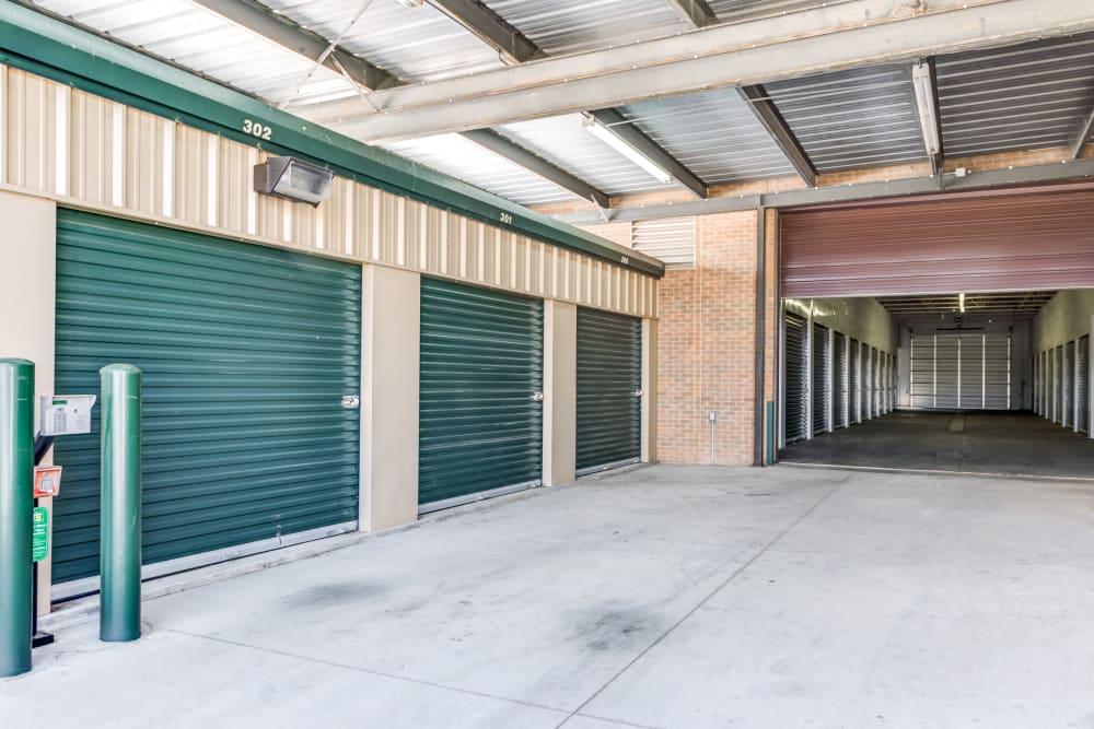 Metro Self Storage offers indoor units in Amarillo, Texas
