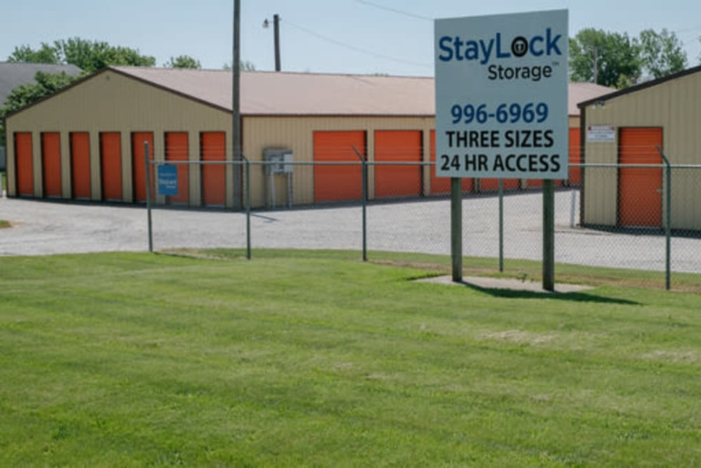 Exterior view of StayLock Storage in Kouts, Indiana
