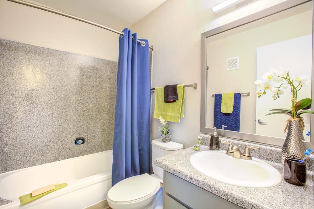 Bathroom at Verde Apartments in Tucson, Arizona