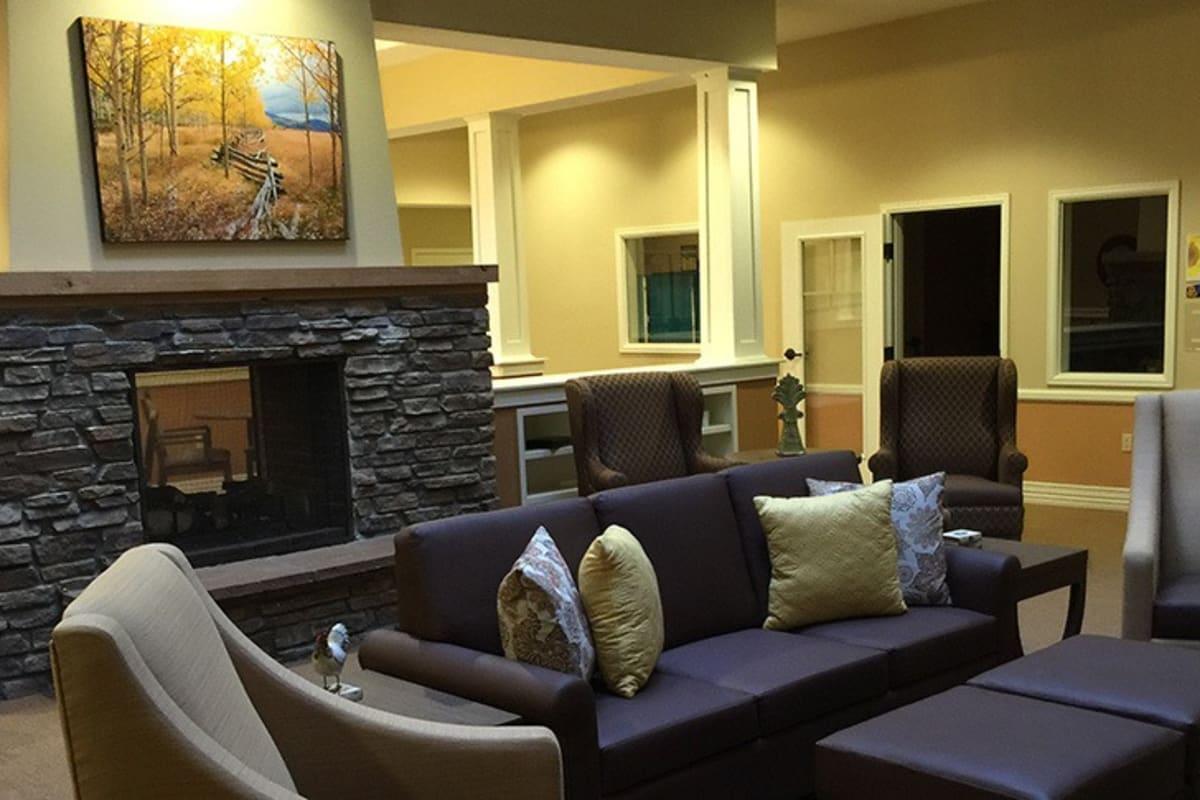 Lobby at New Dawn Memory Care in Colorado Springs, Colorado